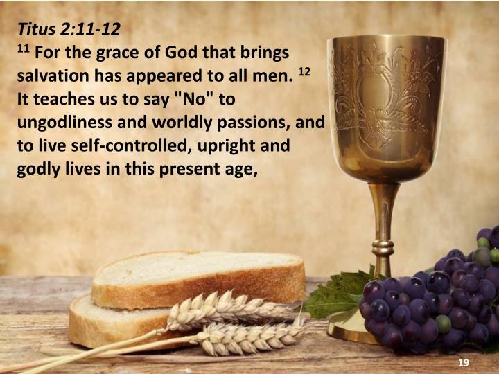 Titus 2:11-12