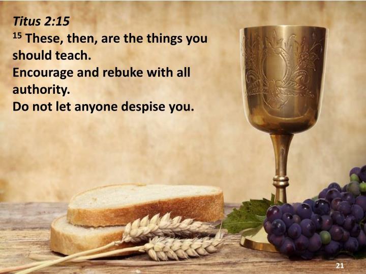 Titus 2:15