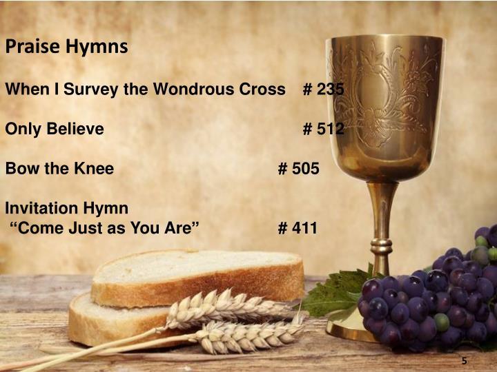 Praise Hymns