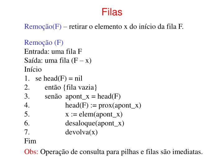 Filas