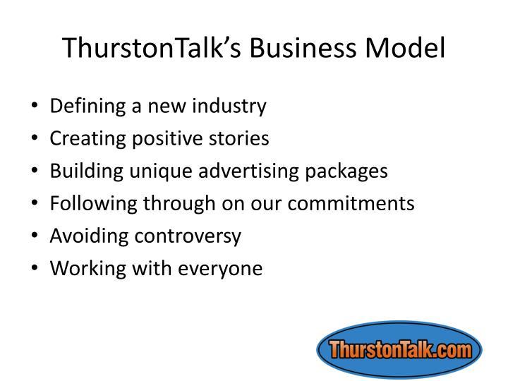 ThurstonTalk's