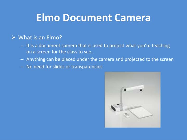 Elmo Document Camera