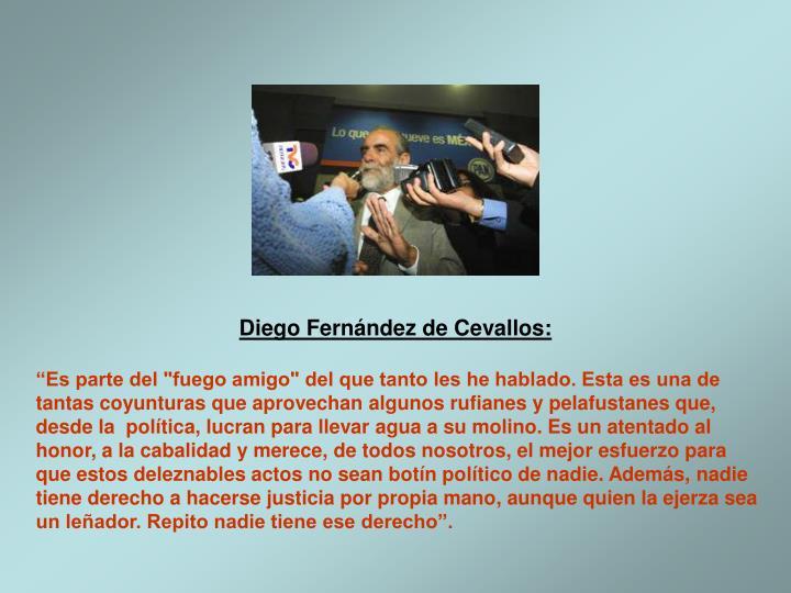 Diego Fernndez de Cevallos: