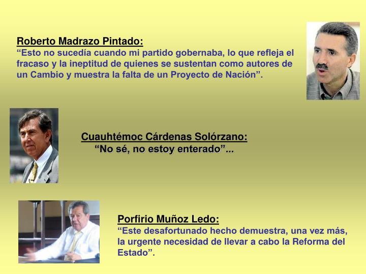 Roberto Madrazo Pintado:
