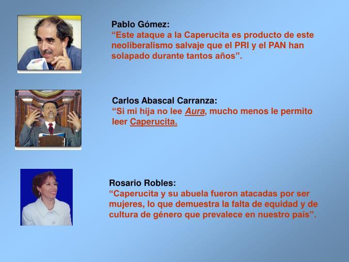 Pablo Gmez: