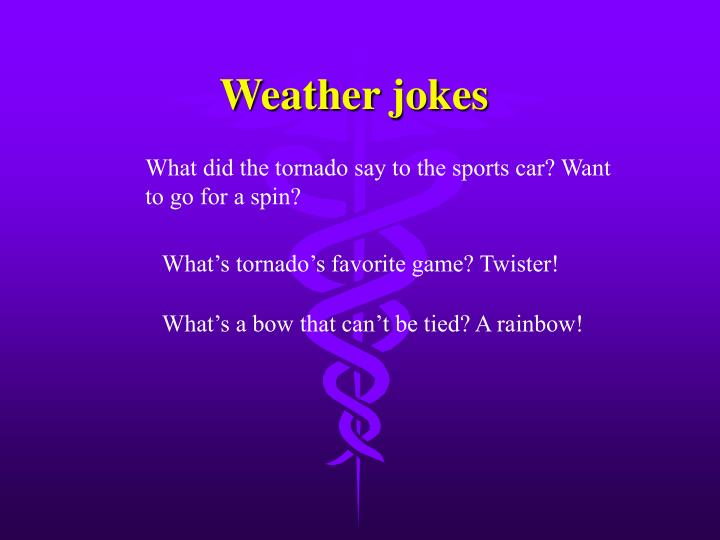 Weather jokes