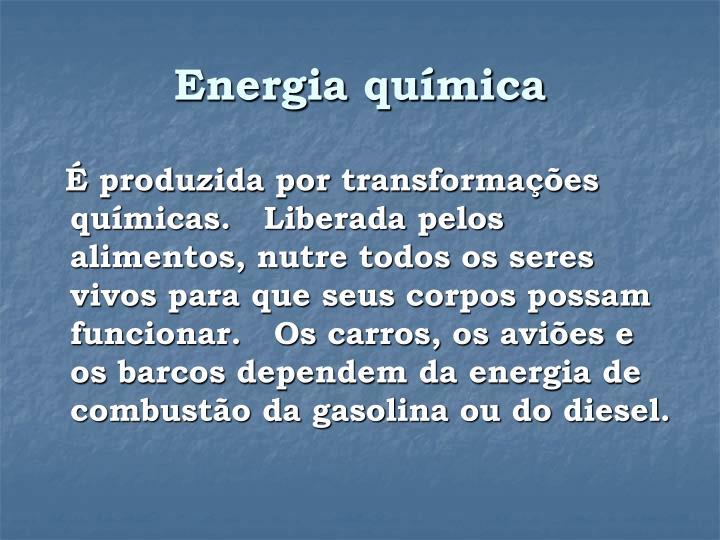 Energia química
