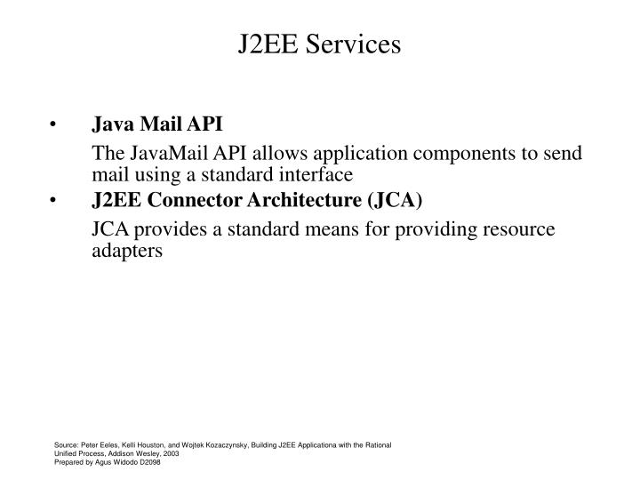 J2EE Services