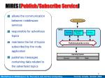 mires publish subscribe service1