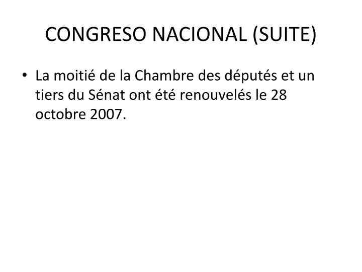 CONGRESO NACIONAL (SUITE)