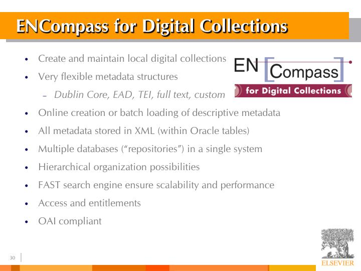 ENCompass for Digital Collections