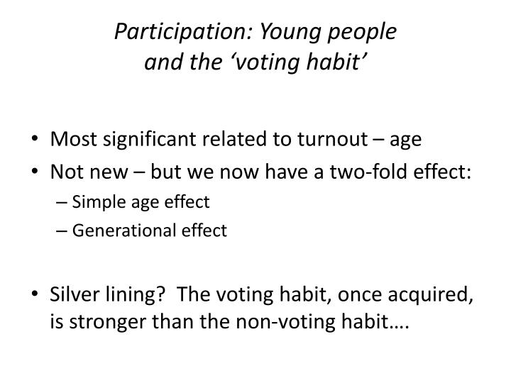 Participation: Young people
