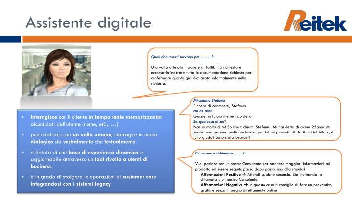 Assistente digitale