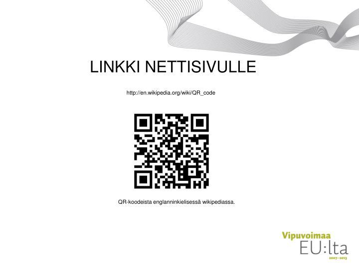 LINKKI NETTISIVULLE