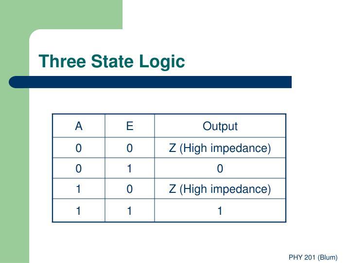 Three State Logic