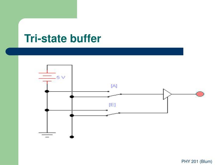 Tri-state buffer