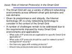 issue role of internet protocol s in the smart grid