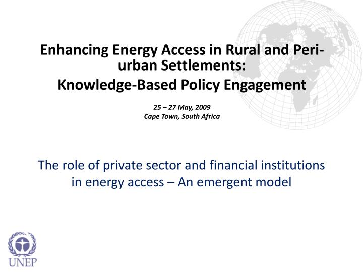 the role of private institutions in Development finance institutions (dfis), as well as public guarantees, insurance, and export credits the complementary roles of public and private finance.