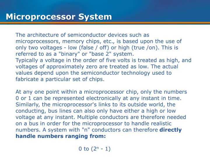 Microprocessor System