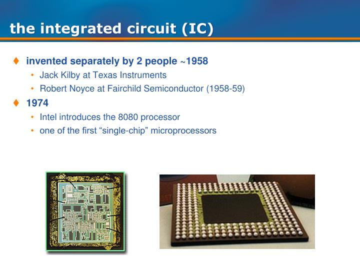 the integrated circuit (IC)
