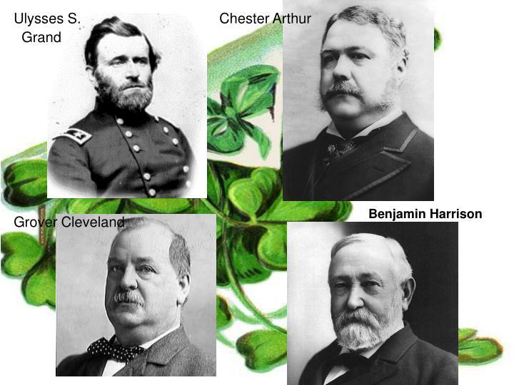 Ulysses S. Chester Arthur