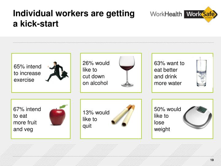 Individual workers are getting