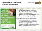 workhealth coach can deliver real results