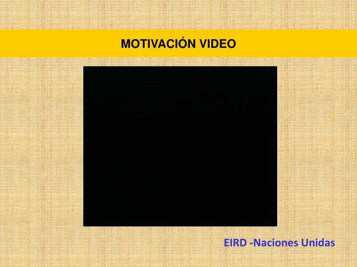 MOTIVACIÓN VIDEO