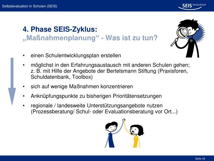 4. Phase SEIS-Zyklus: