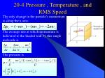 20 4 pressure temperature and rms speed
