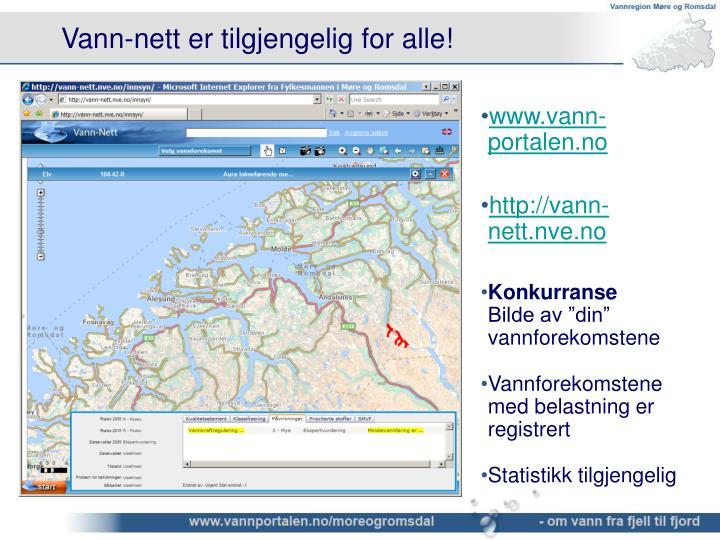www.vann-portalen.no