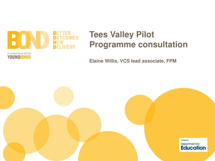 Tees Valley Pilot