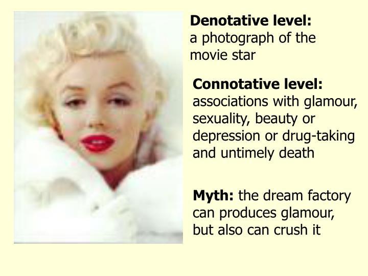 Denotative level