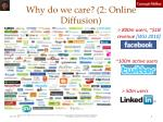 why do we care 2 online diffusion