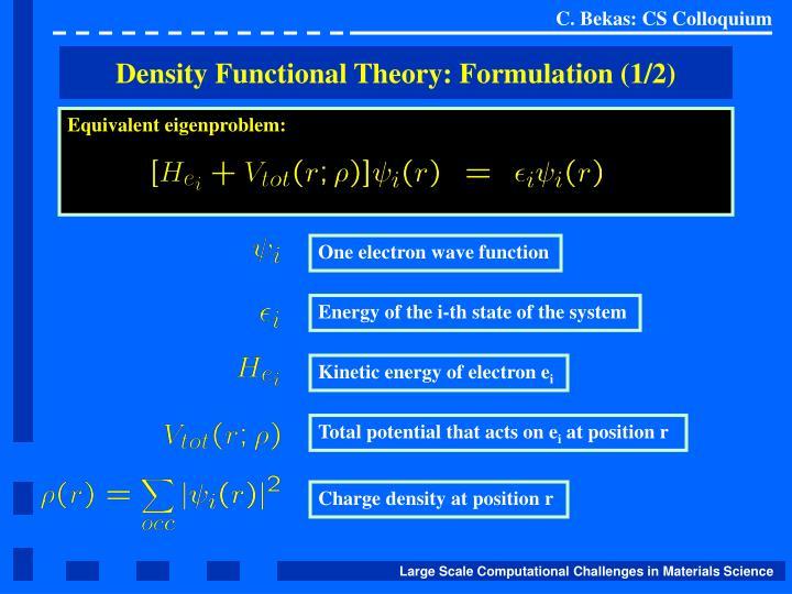 Kinetic energy of electron