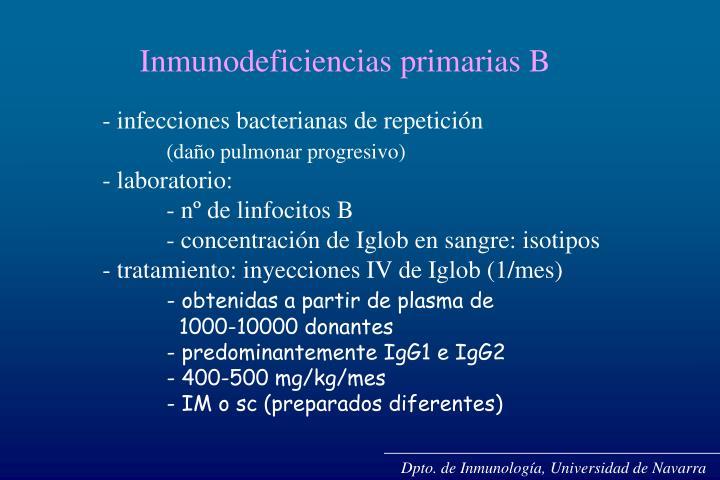 Dpto. de Inmunología, Universidad de Navarra