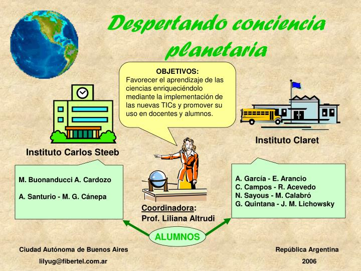 Despertando conciencia planetaria