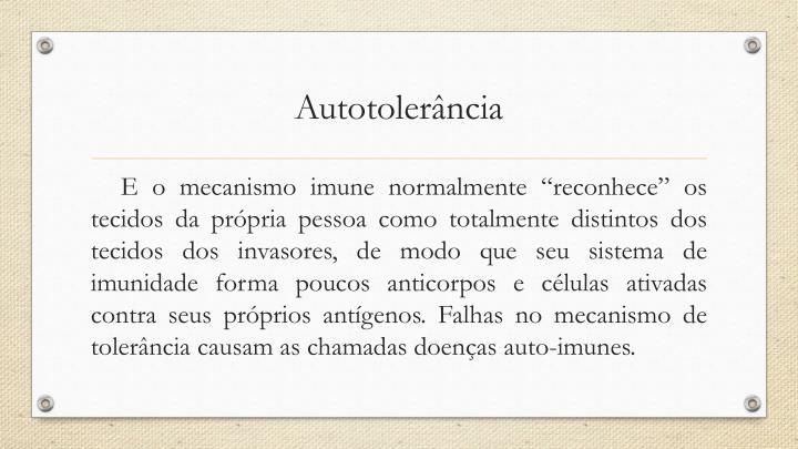 Autotolerância