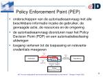 policy enforcement point pep