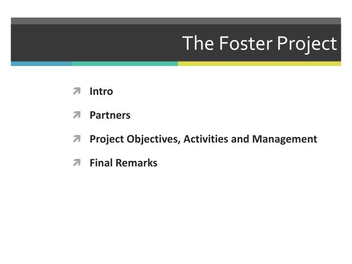 The foster project