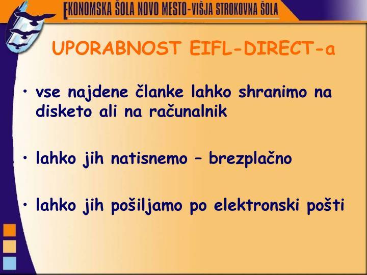 UPORABNOST EIFL-DIRECT-a