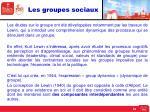 les groupes sociaux1