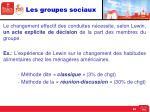 les groupes sociaux6