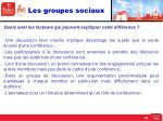 les groupes sociaux7