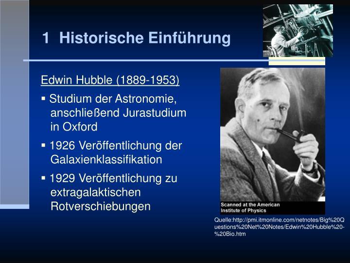 1  Historische Einführung
