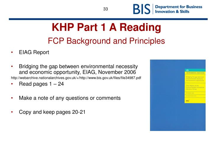 EIAG Report