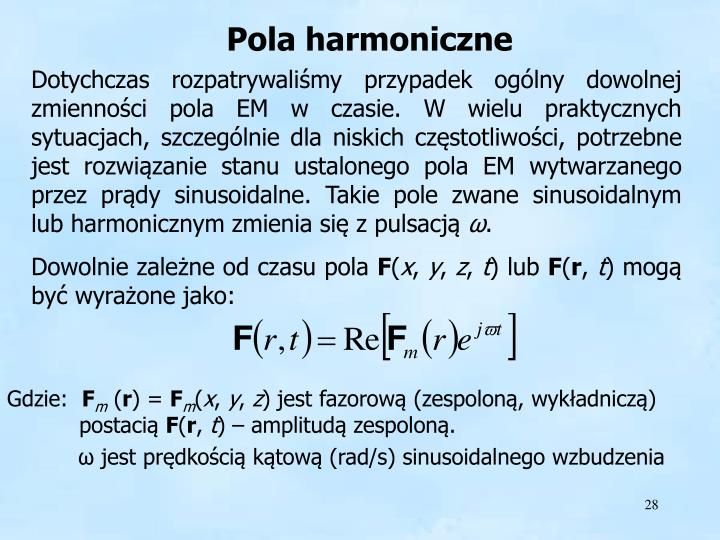 Pola harmoniczne