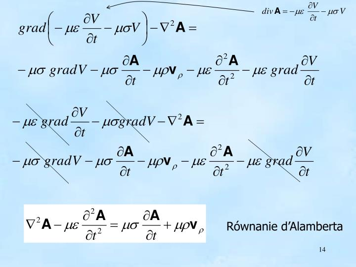 Równanie d'Alamberta