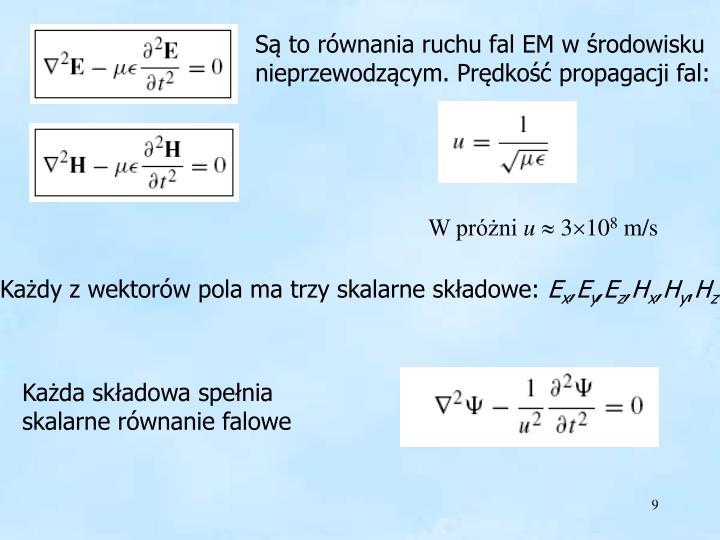 Równanie falowe H