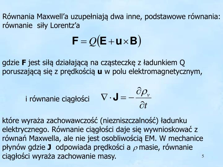 Siła Lorentz'a